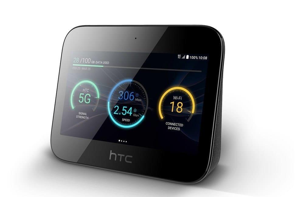 photo of a htc broadband 5g device