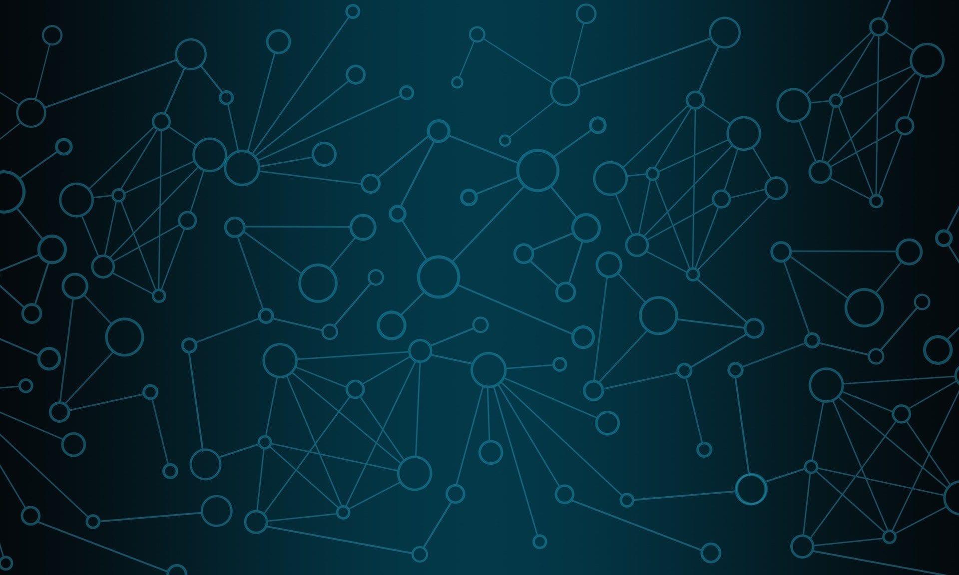 diagram of network node links