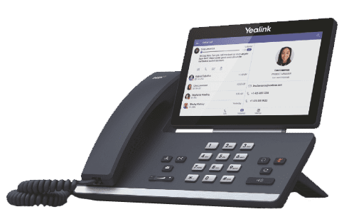 picture of a voip teams phone handset