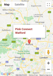 Pink Connect Watford Map