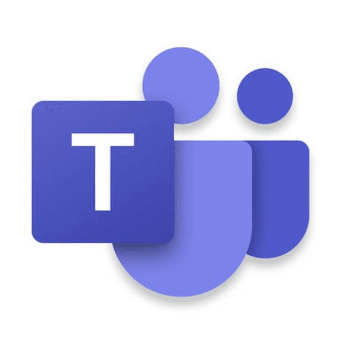 Microsoft Teams Logo with Shadow