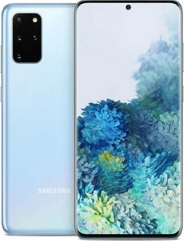 Samsung Blue Mobile Phone