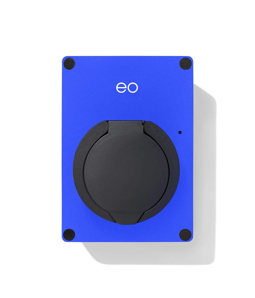 EO Electric Vehicle charging point