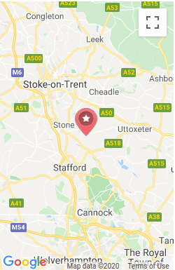 Pink Connect Stafford Map New