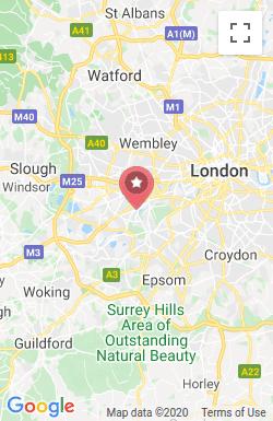 Pink Connect Twickenham Map New