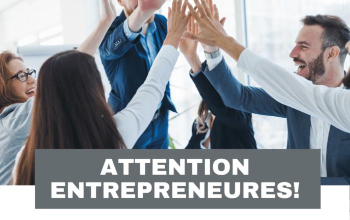 Attention entrepreneurs!